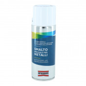 BOMBE DE PEINTURE AREXONS SMALTO SPECIAL METAL BRILLANT BLANC GLACE AEROSOL 400 ml (3292)