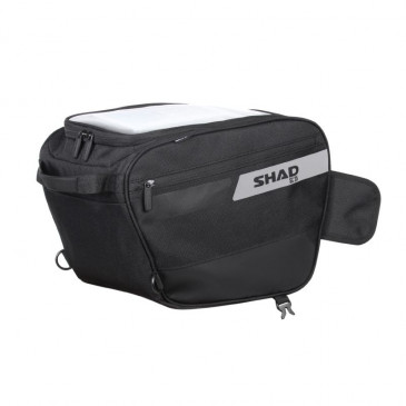 TUNNEL BAG FOR SCOOTER - SHAD POLYESTER (L27xL26xP38cm) (contains 1 open face helmet) (X0SC25)