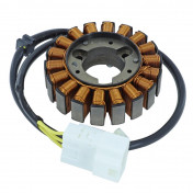STATOR ALLUMAGE ADAPTABLE MOTEUR HONDA 125-150 4T INJECTION (18 PÔLES - TRIPHASE) (R.O 31120-KTF-640) -SELECTION P2R-