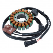 STATOR ALLUMAGE ADAPTABLE MOTEUR PIAGGIO MASTER 400-500 4T (18 PÔLES - TRIPHASE 370W) -SELECTION P2R-