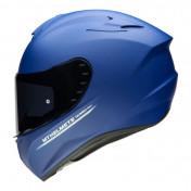 HELMET - FULL FACE MT TARGO - SOLID MATT BLUE - XL (PINLOCK READY- SINGLE VISOR)