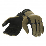GLOVES-SPRING/SUMMER TUCANO -FOR MEN- PENNA ARMY GREEN - EURO 8 (S) (APPROVED EN 13594:2015-CE) (TOUCH SCREEN FUNCTION)