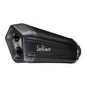EXHAUST FOR MAXISCOOTER LEOVINCE LV-12 BLACK EDITION FOR YAMAHA 560 TMAX 2020> (CARBON END) (APPROVED CE)