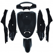 BODY PARTS FOR CHINESE SCOOTER - BLACK (7 PARTS) -P2R-