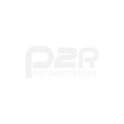 TRIAL HELMET - MT STREETFIGHTER SV -SIMPLE VISOR- WITH REMOVABLE CHIN GUARD + MIRROR VISOR - FLUO ORANGE/MATT BLACK M