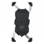 SMARTPHONE HOLDER - AVOC M2 - USB - WIRELESS CHARGING - WITH HOLDER FOR HANDLEBAR/MIRROR