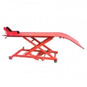 TABLE ELVATRICE MOTO UNIVERSEL ROUGE PLATEAU 180x60 cm -P2R-
