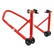 REAR PADDOCK STAND (Bike Lift) P2R UNIVERSAL - RED STEEL