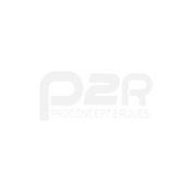 LEVE/BEQUILLE STAND MOTO P2R AVANT FIXATION SOUS FOURREAUX ACIER ROUGE