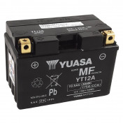 BATTERY 12V 10 Ah YT12A YUASA AGM -FACTORY ACTIVATED- READY FOR USE (Lg150xW87xHt105)