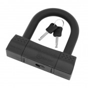 MOTORCYCLE ANTITHEFT- AUVRAY U LOCK K10 BLACK EDITION 85x100mm (Ø 18mm) (SRA APPROVED)