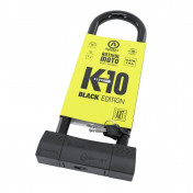 MOTORCYCLE ANTITHEFT- AUVRAY U LOCK K10 BLACK EDITION 85x310mm (Ø 18mm) (SRA APPROVED)