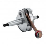 CRANKSHAFT FOR MAXISCOOTER PIAGGIO 125 VESPA PRIMAVERA/ET3 (Ø 19mm) -TOP PERFORMANCES AS ORIGINAL-