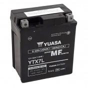 BATTERIE 12V 6,5 Ah YTX7L YUASA AGM ACTIVEE EN USINE PRET A L'EMPLOI (Lg114xL71xH131)