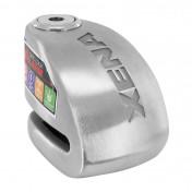 ANTIVOL BLOQUE DISQUE XENA XX6 INOX AVEC ALARME 120 dB (Ø 6mm)