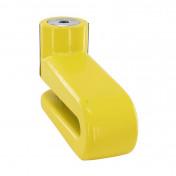 ANTIVOL BLOQUE DISQUE AUVRAY BD22 (DIAM 10mm) JAUNE AVEC POCHETTE