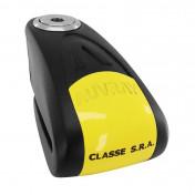 ANTIVOL BLOQUE DISQUE AUVRAY B-LOCK AVEC ALARME SONORE DIAM 14mm NOIR/JAUNE (CLASSE SRA)