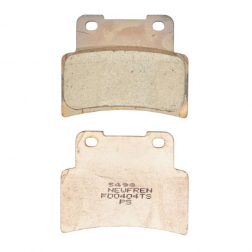 BRAKE PADS NEWFREN FOR APRILIA 125 RS 2006>2011 Front 750 DORSODURO 2009>2018 Front 750 SHIVER 2007>2018 Front YAMAHA 125 MT 2014>, YZF-R125 2014> Front (FD0404TS) (TOURING SINTERED)