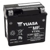 "BATTERY 12V 4 Ah YTX5L YUASA FACTORY ACTIVATED ""READY TO USE"" (Lg114X wd71xH106mm)"