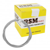 CABLE D'EMBRAYAGE TRANSFIL 8x8 DIAM 2.0mm (20/10) Lg 2M50 (BOITE DE 10)