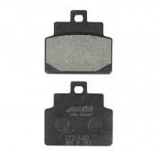 BRAKE PADS - POLINI APRILIA 125 HABANA, 125 LEONARDO, 100 SCARABEO, 125 SR, 125 MOJITO (L 53.8mm - H 50.7mm - thk 8mm) (174.0028) (ORIGINAL)