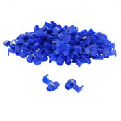 ELECTRIC CABLE TERMINAL- BLUE CONNECTOR PRE-ISOLATED -FOR WIRE 1 à 2.5 mm² (PER 100 IN A BAG PIECES) -SELECTION P2R-