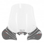 WINDSHIELD FOR MAXISCOOTER KYMCO 300 AGILITY R16 ABS 2019> TRANSPARENT -FACO-