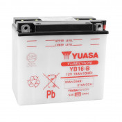 BATTERY 12V 19 Ah YB16-B YUASA YUMICRON WITH MAINTENANCE (Lg175x wd100xH155mm)