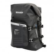 DUFFLE BAG - SHAD SW45 WATERPROOF - BLACK 40Lt ( fixation included) (X0SW45)