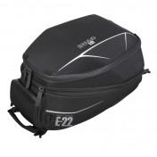 SACOCHE DE RESERVOIR MOTO SHAD E22 NOIR 16/22L (FIXATION INCLUE) (X0SE22)