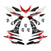 AUTOCOLLANT/STICKER/KIT DECO SCOOT VOCA POUR MBK 50 NITRO 1997>2012/YAMAHA 50 AEROX 1997>2012