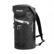 DUFFLE BAG - SHAD SW38 WATERPROOF - WATERPROOF BLACK 35Lt ( fixation included) (X0SW38)