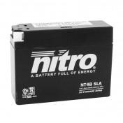 "BATTERY 12V 4 Ah NT4B NITRO SLA MAINTENANCE FREE ""READY TO USE"" (Lg114X wd39xH87mm)"
