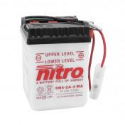 BATTERY 6V 4 Ah 6N4-2A-4 NITRO WITH MAINTENANCE (Lg71xW71xH96mm)