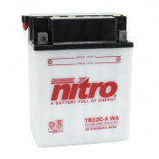 BATTERY 12V 12 Ah NB12C-A NITRO WITH MAINTENANCE (Lg134x wd80xH175mm)