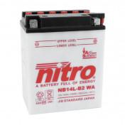BATTERY 12V 14 Ah NB14L-B2 NITRO WITH MAINTENANCE (Lg136x wd91xH168mm)