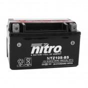 BATTERY 12V 8,6 Ah NTZ10S-BS NITRO MF MAINTENANCE FREE WITH ACID PACK (Lg150x wd87xH93mm)