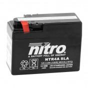 "BATTERY 12V 4 Ah NTR4A NITRO SLA MAINTENANCE FREE ""READY TO USE"" (Long 112mm x Wd 49mm x Hg 86mm)"