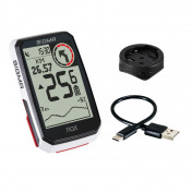 COMPTEUR SIGMA ROX4.0 GPS BLANC ALTIMETRE