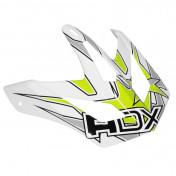 VISOR FOR ADX CROSS HELMET ADX MX2 WHITE/GREEN/GREY