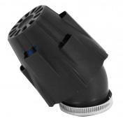 AIR FILTER - POLINI BLUE AIR BOX PHBH - BLACK ELBOW FIXING 30° Ø 42 (203.0092)