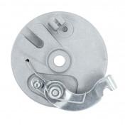 FLASQUE DE FREIN CYCLO ADAPTABLE PEUGEOT 103 SP, MVL AVANT DIAM 90mm (TYPE GRIMECA AVEC MACHOIRES) -SELECTION P2R-