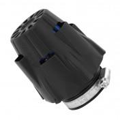AIR FILTER - POLINI BLUE AIR BOX PHVA - BLACK STRAIGHT FIXING Ø 46 (203.0082)