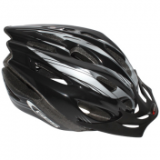 ATB ADULT HELMET- GET ROCKET BLACK SIZE 58-62 WITH VISOR- + SYSTEM QUICK LOCK (SOLD IN BOX)