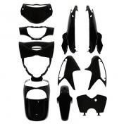 FAIRINGS/BODY PARTS FOR MAXISCOOTER HONDA 125 SH INJECTION BLACK GLOSS (10 PARTS KIT)