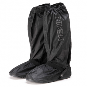 BOOT RAIN COVER HEVIK BLACK 40/41 WITH RUBBER SOLE