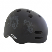 BMX HELMET- NEWTON BLACK MAT -WITH LOCK SYSTEM- SIZE 55-58 (SOLD IN BOX)