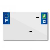 PLASTIC STRIP FOR BLANK PVC LICENSE PLATE (MOTORBIKE FORMAT 210X130)-DEPT 23/EUROPE (SOLD PER UNIT)