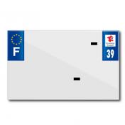 PLASTIC STRIP FOR BLANK PVC LICENSE PLATE (MOTORBIKE FORMAT 210X130)-DEPT 39/EUROPE (SOLD PER UNIT)