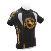 CYCLING JERSEY (FOR CHILD)- CONTINENTAL BLACK -SIZE 128 (SOLD PER UNIT)